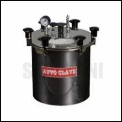 Sanjivani Stainless Steel Single Drum Autoclave