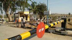 Railway Level Crossing Gate