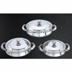 Baby Corn Stainless Steel Handi Set
