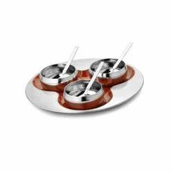Stainless Steel Serving Platter Set