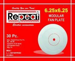 Plastic Round Fan Plate Modular