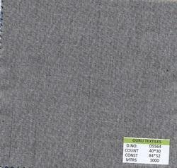 Grey 100% Cotton Fabric