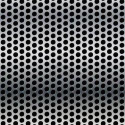100 x 100mm 8mm Hexagonal Perforated Mesh