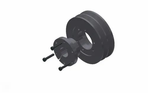 PK Tools QD Bush Pulley, Packaging Type: Box