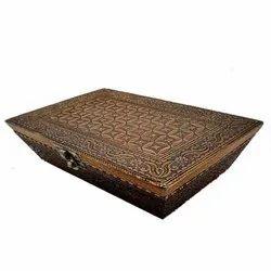 ShCraft Design Copper Decorative Wooden Gift Box