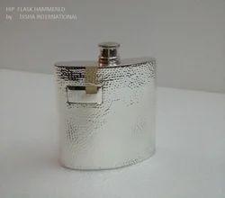 Hip Flask Hammered