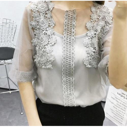 Embroidery Girls Top, Size: XS/S/M/L, Universal Fashion Hub
