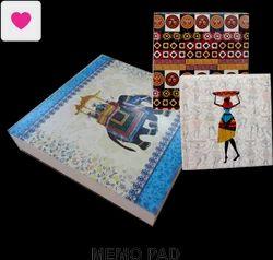 8- Writing Pads,Memo Leves Box