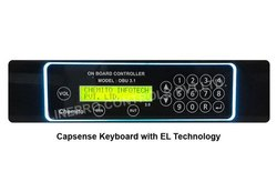 Membrane Keypad with EL Backlight