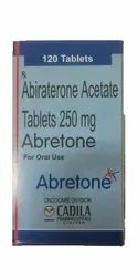 Abretone Abiraterone Acetate 250 mg Tablet