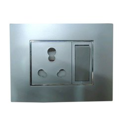 6a Titanium Silver Color Rocker Modular Switch
