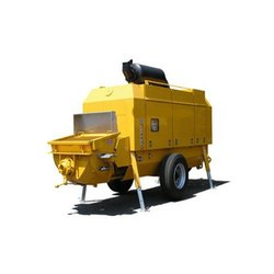 Stationary Concrete Pump Rental Service