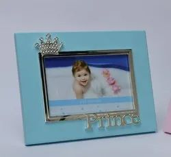 Prince Crown Crystal Studded Kids Photo Frame