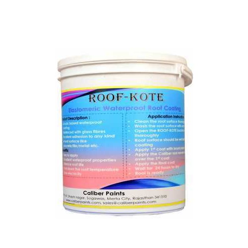 Roofkote Waterproof Elastomeric Roof Coating Packaging Size 20 Kg Rs 3500 Bucket Id 19639780755