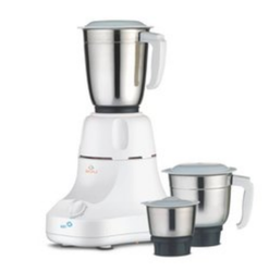 Stainless Steel White Kitchen Mixer Grinder For Personal, 300 W - 500 W