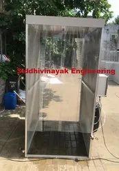 Corona Virus Disinfection Spray Booth