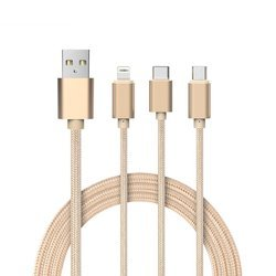 3 In 1 Multiple Charging Data Cable