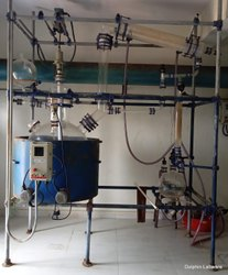 Dolphin Labware Reaction Distillation Unit