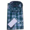 Mens Trendy Check Cotton Shirt