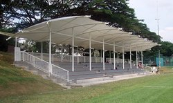 Indoor Court Tensile Shed