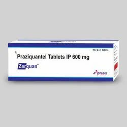 Zerquan - Praziquantel Tablets IP 600 mg