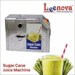 Leenova Stainless Steel Sugarcan Juice Machine (Compaq), 120 Glass Per Hour, Single Phase