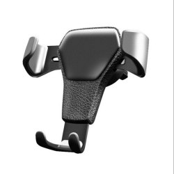 Black Car Phone Holder