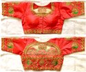 Silk Blouse With Handwork