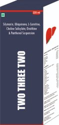 Silymarin Ubiquinone L Carnitine Choline Salicylate Ornithine & Panthenol Suspension