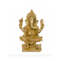 Small Brass Ganesha idol