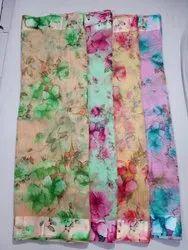 Formal Wear Linen Silk Saree