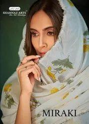 Miraki Of Shahnaz Arts Pure Cotton Summer Wear Salwar Suit Trader