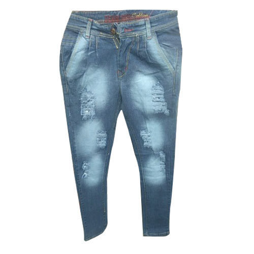 Mens Denim Rugged Jeans