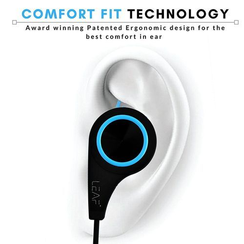 59db4641372 Blue Leaf Wireless Bluetooth Earphones With Mic, Rs 1920 /piece   ID ...