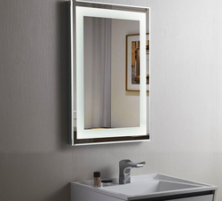 LED Mirror With Touch Sensor Light