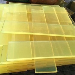 Yellow PU Sheet