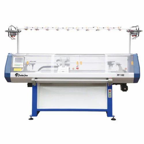 Panther Force Computerized Flat Knitting Machine, | ID: 7097139962