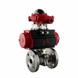Pneumatic Actuator Operated Ball Valve