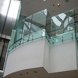 Transparent Railing Interior Glass