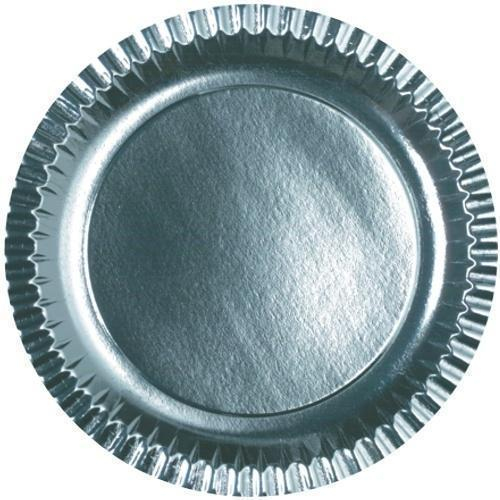 12 Inch Silver Paper Plate  sc 1 st  IndiaMART & 12 Inch Silver Paper Plate at Rs 25 /packet   Chandi Ki Panni Wali ...