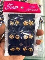 Drop Earrings rose gold women earing