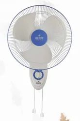 White And Blue Thunder Storm Wall Fan