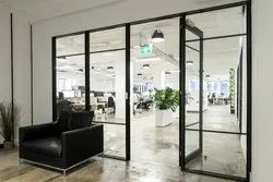 Aluminium Partition Door System