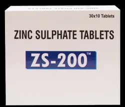 Zinc Sulphate 200 (ZS - 200) Tablet