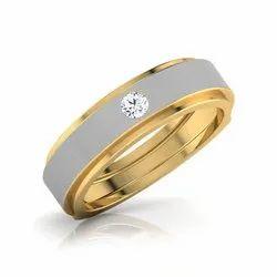 Mens Diamond Engagement Band