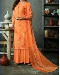 Cotton Ladies Designer Dress