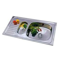 Prayag Stainless Steel Shape: Rectangular AMC Vegetable Bowl Sink