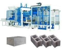 Automatic Concrete Hollow Block Plant