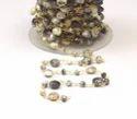 Natural Dendrite Opal Chain