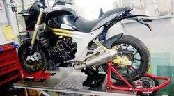 Black Bike Maintenance Service